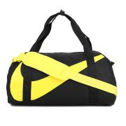 Bolsa Nike Gym Club Preto\ amarelo - Original