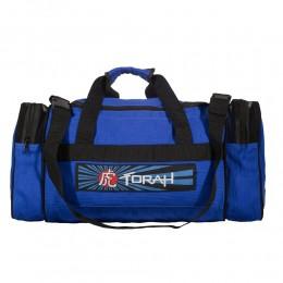 Bolsa Viagem Torah em Tecido Trançado - Azul