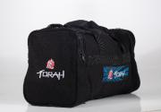Bolsa Viagem Torah em Tecido Trançado - Preto
