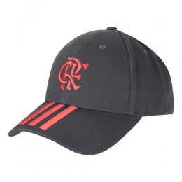 Boné Adidas Treino Flamengo - Chumbo