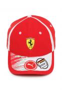 Boné Puma Ferrari Sf Vettel Cap Vermelho