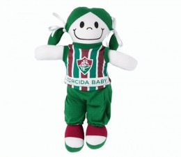 Boneca Torcedora Fluminense Torcida Baby