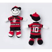 Boneco Infantil Torcida Bbay Flamengo