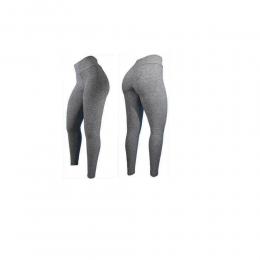 Calça Legging Elite Lady Ju - Cinza Mesclado