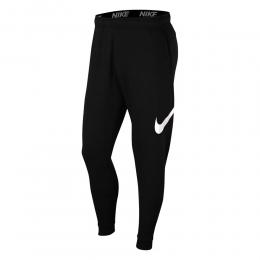 Calça Nike Moletom Tapered - Masculina - preto