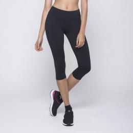 Calça Selene Corsário Fitness - Preto