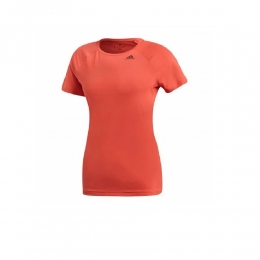 Camisa Adidas D2M Solid - Salmão - Feminina