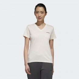 Camisa Adidas D2M Solid t - rosa - Feminina