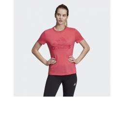 Camisa Adidas Must Haves Badge of sport - Rosa - Feminina