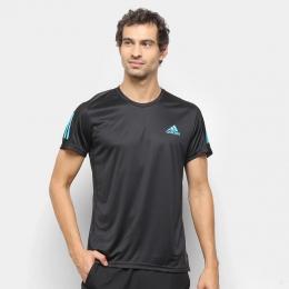 Camisa Adidas own the run - Preto - Masculina