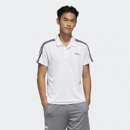 Camisa Adidas polo 3-Stripes - Branca