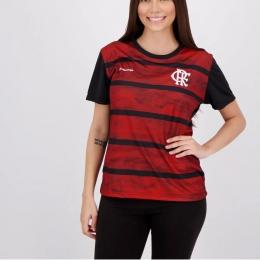 Camisa Babylook Braziline Flamengo Proud - Feminino