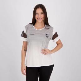 Camisa Botafogo Deserve Braziline - Feminina Branca