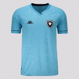 Camisa Botafogo IV 21/22 s/n° Torcedor Kappa Masculina - Azul Claro