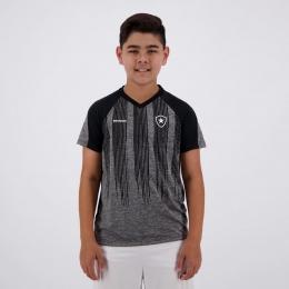 Camisa Botafogo Motion Braziline - Infantil Mesclada