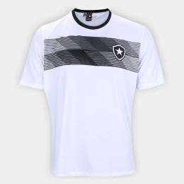 Camisa Botafogo Talent Braziline - Infantil Branca