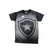 Camisa Botafogo Torcedor Juvenil Kappa - Preta