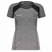Camisa Braziline CAB  Feminina Botafogo - Preta
