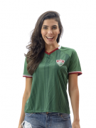 Camisa Braziline Care Feminina Fluminense