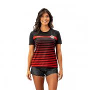 Camisa Braziline Date Flamengo Feminino - Preto