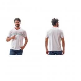 Camisa Braziline Fluminense Evoke Masculino - Branco