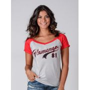 Camisa Braziline Flamengo Feminina Glee - Listrada