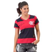 Camisa Braziline Fla Zico Libertadores Feminina