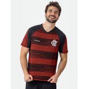 Camisa Braziline Flamengo Motion - Vermelho