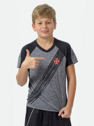 Camisa Braziline Motion Infantil Vasco - Mesclada