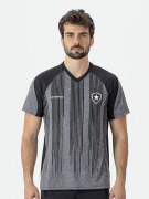 Camisa Braziline motion Botafogo Adulto - Mesclada