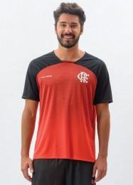 Camisa Braziline Shadow Flamengo - Vermelho