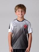Camisa Braziline Strike Vasco Infantil - Preto / Branco