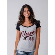 Camisa Braziline Vasco Feminina Glee - Listrada