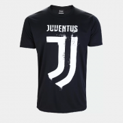 Camisa Clube Juventus Dry Masculina - Preto