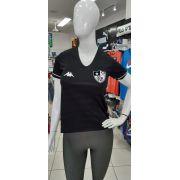 Camisa do Botafogo II 2019 Kappa Feminina - Preta
