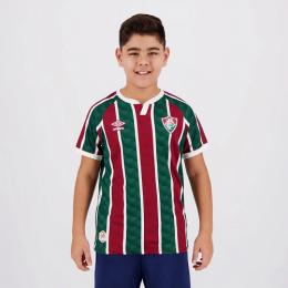 Camisa do Fluminense I 20/21 Umbro - Infantil