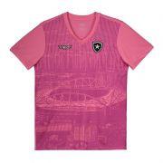 Camisa Juvenil Oficial Botafogo Outubro Rosa - Original