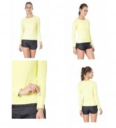 Camisa Key Running - Live! - Verde