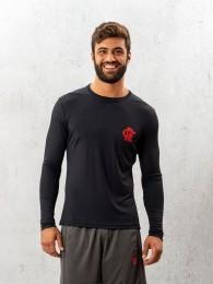 Camisa Manga Longa Braziline Flamengo Balance - Preto