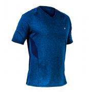 Camisa Poker Law Mescla - Azul