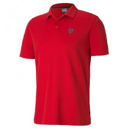 Camisa Polo Puma Ferrari Masculina - Vermelho