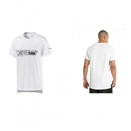 Camisa Puma triblend Graphic tee White