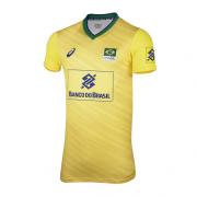 Camisa Seleção Brasileira Volei Cbv Asics - Oficial