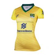 Camisa Feminina Seleção Brasileira Volei Cbv Asics - Oficial
