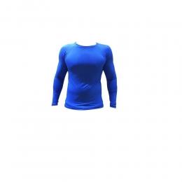 Camisa Térmica Manga Longa Nata Sports - Azul