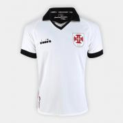 Camisa Vasco Diadora Torcedor  Oficial 3 - Branco