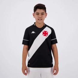 Camisa Vasco Kombat I Player Home 2020 I Kappa  - Infantil