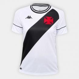 Camisa Vasco Kombat II Player Home 2020 Kappa - Feminina Branca