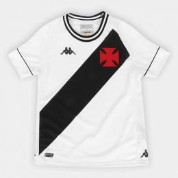 Camisa Vasco Kombat I Player Home 2020 Kappa - Juvenil Branca