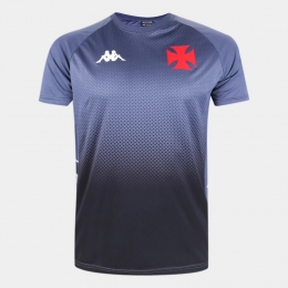 Camisa Vasco Treino Comissão Técnica 2020 Kappa - Masculina Cinza